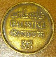 Palestine 1 Mil 1941 - Monete