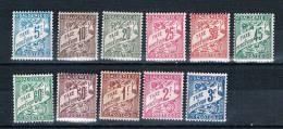 ALGERIE  Taxes Série N° 1A* à 11* - Algérie (1924-1962)