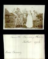 Photographie-387   Groupe  Scene De Vie Rollot 1932    Photo Originale - Photos