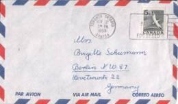 Canada - Umschlag Echt Gelaufen / Cover Used (l 729) - 1952-.... Elizabeth II