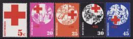 Netherlands #502, B485-88 F-VF Mint NH ** (1972) Red Cross - Period 1949-1980 (Juliana)