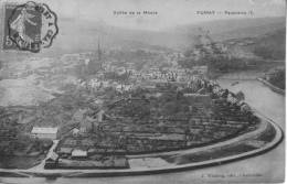 FUMAY      VALLEE DE LA MEUSE      PANORAMA - Fumay