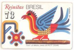 CALENDRIER 1973 REINITAS BRESIL - Around Cigars