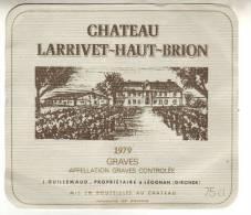 CHATEAU LARRIVET-HAUT-BRION - Bordeaux