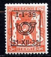 BE  PO 420   X   ---   Série 16  --  1939 - Préoblitérés