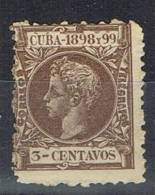 Sello CUBA, Colonia Española 1898, SALTO De PEINE, Num 161 * - Elobey, Annobon & Corisco