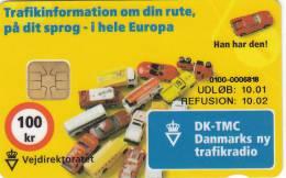 Denmark, DD 216, Vejdirektoratet, Cars, 40475 Issued, 2 Scans. - Danimarca