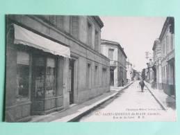 Saint Christoly De Blaye - Rue De La Gare - Other Municipalities