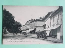 Saint Christoly De Blaye - La Place Centrale - Other Municipalities