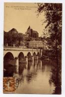 K22 - LE BLANC - Pont Sur La Creuse - Vue Sur L'église Saint-Cyran (1928) - Le Blanc