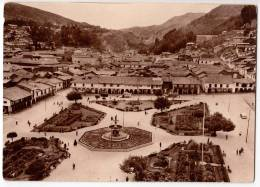 AMERICA CHILE CUZCO SQUARE OF WEAPONS Nr. 301 OLD POSTCARD - Chile