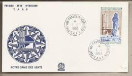 TAAF - Busta FDC: Nostra Signora Dei Venti - 1983 - FDC