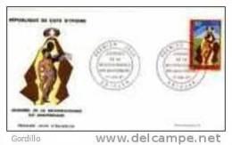 FDC Cote D´Ivoire Journée De La Reconnaissance. 1967. - Costa D'Avorio (1960-...)