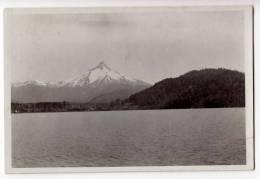AMERICA CHILE PUNTIAGUDO MOUNTAIN LAKE TODOS LOS SANTOS OLD POSTCARD - Chile