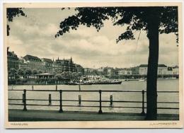 HAMBURG  Jungfernstieg  1937 - Mitte