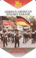 TARJETA DE ESTADOS UNIDOS DE NEW YORK  GERMAN-AMERICAN PARADE (NUEVA-MINT) - Sin Clasificación