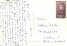 Spanien / Spain - Karte Echt Gelaufen / Card Used  (l 741) - 1931-Heute: 2. Rep. - ... Juan Carlos I