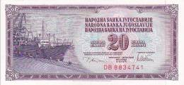 JUGOSLAVIJA  -  20 DINARA  -  1978  --  UNC - Jugoslawien