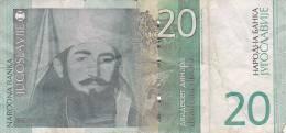 JUGOSLAVIJA  -  100 DIN.  (1963 ) , 20 DIN.  ( 2000 ) - Jugoslawien