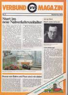 Verkehrsverbund Magazin Stuttgart, VVS, Neues Nahverkehrssystem, Fahrkartenautomaten, Nr. 3/1978 - Europa