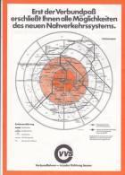 Verkehrsverbund Stuttgart, VVS, Neues Nahverkehrssystem, Tarifzonen 1978 - Europa