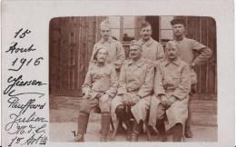 Carte Postale Photo Militaire Français à GIESSEN- KRIEG-Guerre1914-1918-Feldpost -Voir 2 Scans - - Giessen