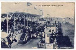 AMERICA CHILE ANTOFAGASTA THE HIPPODROME OLD POSTCARD 1932. - Chile