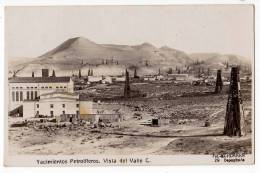 AMERICA CHILE OILFIELDS VALLEY VIEW OLD POSTCARD 1929. - Chile