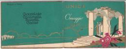 """PO5368# CALENDARIETTO PUBBLICITARIO ILLUSTRATO Omaggio UNICA """"Unione Naz. Industria Cioccolato E Affini"""" 1926 - Kalenders"""