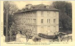 Cpa Caen 14 Calvados Clinique St Martin - Caen