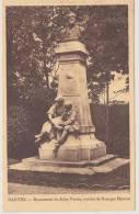 NANTES - MONUMENT DE JULES VERNE - OEUVRE DE GEORGES BAREAU - Nantes