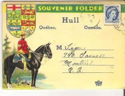 Souvenir Folder Of Hull, Quebec - Autres