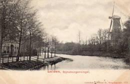 Monnikendam Rijnsburgersingel 1900 Postcard - Leiden