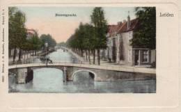 Monnikendam Heerengracht 1900 Postcard - Leiden