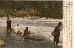 PEROU / PERU - PERENÉ - Balsa De Naturales +++ To Forges-les-Bains, France, 1907 ++++++ Eduardo Polack, Lima ++++ - Pérou
