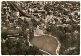 CPM Dentellée - DRAVEIL 91 Essonne  -  Vue Générale Aérienne Le Château De Paris-Jardins - Draveil