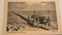 AK Ansichtskarte Ostseebad Binz Auf Rügen - Seebrücke - Vom 2.8.1947  Knr: 947 - Rügen