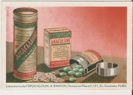 Laboratoires De L'Opocalcium. Anaclasine. A. Ranson. - Reclame