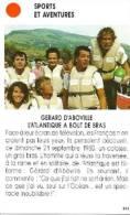Photo, Sport, Traversée Ocean Atlantique Bateau à Rames, Gerard D'Abboville 1980 / Paris Match Presse France - Unclassified