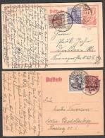 Deutsches Reich  10  Karten - Deutschland