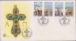 Gems, Mineral, Geology, Christianity, Holy Cross, Religion, FDC, Bophuthatswana - Geology