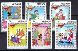 Grenada 1983 Walt Disney  Christmas MNH** - Lot. 1352 - Grenade (1974-...)