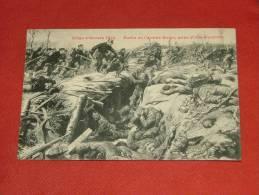 Siège D'Anvers 1914 - Sortie De L'ArméeBelge, Prise D'une Tranchée - Guerre 1914-18