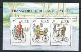 IRLAND Mi.Nr. Block 8  Fahrrad - MNH - Cycling