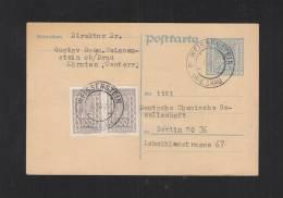 Österreich GSK 1923 Weissenstein Ob D. Drau - Interi Postali