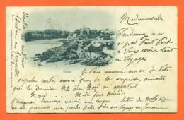 """Dpt  44  Pornic  """"  Sans Titre  """"  Carte Precurseur 1901 - Pornic"""