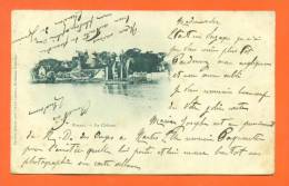 """Dpt  44  Pornic  """"  Le Chateau  """"  Carte Precurseur 1902 - Pornic"""