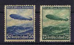 Deutschland: Dt. Reich.  Mi 606-607, MH/*