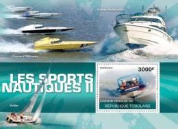TOGO 2010 - Speed Water Race (Water Sports II) S/S - Mi B543, YT BF412