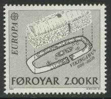Faroer Faroe Islands 1982 Mi 71 Sc 81 ** Archaeological Excavations At Kvikik / Wikingerhaus (800-1050) - Europa Cept - Archeologie